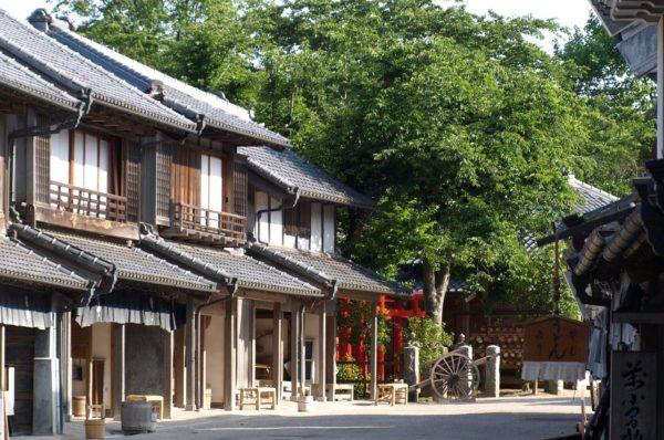 日本の江戸時代の風景
